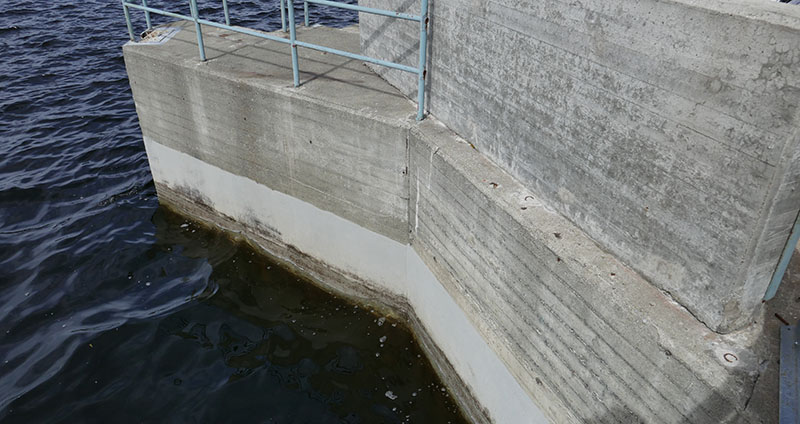 betong i vatten